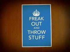 Freak Out...
