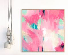 Pink and Grey Painting Large Wall Art Minimal Abstract ArtOversized Wall Art Living Room Art Nursery Art Bedroom Decor Abstract Art Blumen malen Pink Abstract, Abstract Wall Art, Abstract Print, Abstract Paintings, Contemporary Abstract Art, Modern Art, Cuadros Diy, Pink Painting, Painting Walls