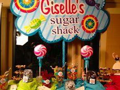 Giselle's Sugar Shack After- By The Party Girl Events