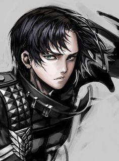 Not totally accurate to his features, but still this is pretty art | Levi | SnK