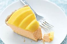 Refreshing Mango Pie made with COOL WHIP