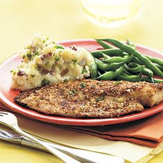 Almond-Crusted Tilapia | CookingLight.com