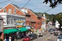 Damariscotta, Maine... Lovely Maine village, fun place to spend a day and shop.