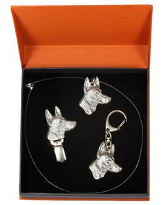 Pharaoh Hound, Hound Dog, Casket, The Prestige, Jewelry Sets, Statue, Drop Earrings, Chain, Image Link