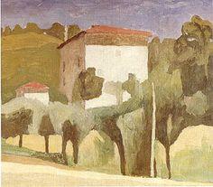 Morandi landscape