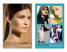 LOVE this modeling comp card