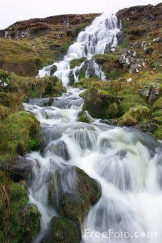 Bride's Veil Waterfall ༺✿ Isle of Skye.