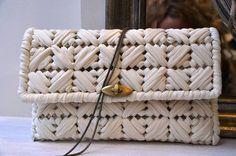 Сумочки из трикотажной пряжи или шнура без вязания в нашем блоге о вязании