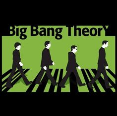 Big Bang Theory meets The Beatles, Abbey Road