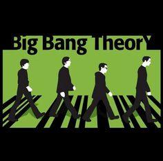 Big Bang Theory meets The Beatles, Abbey Road