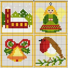 Building barn cross stitch.