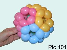 Balloon-O-Therapy Twisting Balloons with FewDoIt: How To Make Balloon Ball | Balloon Heart | Balloon...