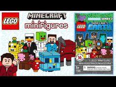 LEGO Minecraft CMF Series 2 - YouTube Minecraft Earth, Lego Minecraft, Minecraft Skins, Animal Crossing, Comics, Buildings, Houses, Youtube, Top
