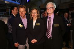 Genie Francis Photos Photos - (L-R) Actors Kin Shriner, Genie Francis and Tony Geary of ABCÕs soap opera General Hospital ring the opening bell at the New York Stock Exchange on April 1, 2013 in New York City. - General Hospital Celebrates Its 50th Anniversary