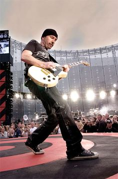 The Edge...his music is inspiring and magical to say the least