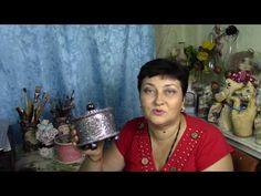 Серебряная шкатулочка своими руками ХоббиМаркет - YouTube
