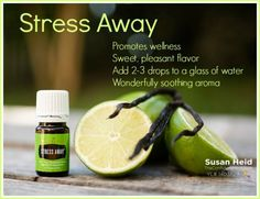 Young Living Stress Away Essential Oil - Relaxation in a Bottle