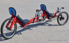 You can build your own Viking tandem trike on a shoestring budget.