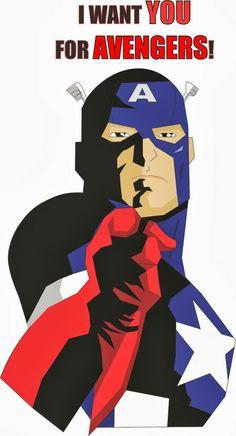 Cap America  we want you
