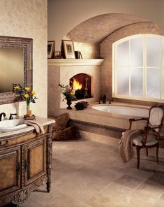Ready for a bathroom remodel? Take time to relax in your own home spa this new year.