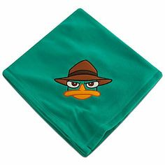Disney Phineas and Ferb Agent P Fleece Throw by Disney. $19.99. The secret agent star of Disney Channel's Phineas and Ferb takes a break from his undercover work to appear above the covers on this Agent P fleece blanket.