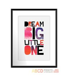 Dream big little one 5x7 by MiraDoson