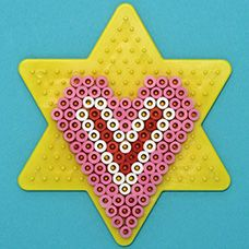craftprojectideas.com - Valentine's Day Melty Bead Shapes