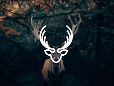 by sunil kumar Logo Deer, Hotel Logo, Deer Art, Color Psychology, Fika, Animal Sculptures, Pictogram, Graphic Design Posters, Calligraphy Art