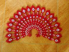 3D орігамі павич... | Альбом | Нга | 3D орігамі мистецтво
