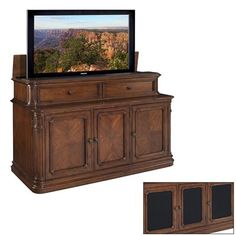 TV Lift Cabinet AT005000 Pacifica TV Lift Cabinet