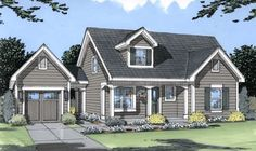 CapeCod House Plan chp-23345 at COOLhouseplans.com