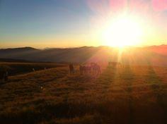 Tramonto Monti della Laga   #Spelonga #mountain