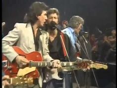 George Harrison, Carl Perkins, Eric Clapton, Ringo Starr   Blue Suede Shoes
