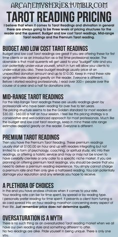 Tarot Tips. http://arcanemysteries.tumblr.com