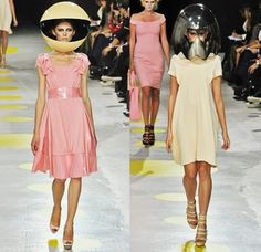 10 Outrageous Fashion Accessories Made Purely For Entertainment Giles Deacon, Women's Fashion, Fashion Design, Techno, Collaboration, Runway, Bodycon Dress, Spring, How To Wear