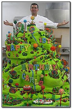 Candy Mountain Cake Boss