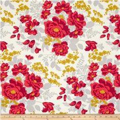 Joel Dewberry Flora Rose Bouquet Poppy