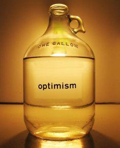 TAREA DEL DÍA: Aprender el significado de la palabra OPTIMISMO, e intentar que forme parte de nuestra vida. Es cuestión de ACTITUD!!
