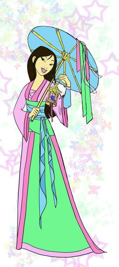 Mulan Dress Up deviantART | ... my other cousin. This one was based off her favorite character Mulan