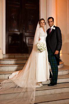 Casamento da Princesa Amélia Orleans e Bragança e James Sperman