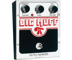 Electro-Harmonix Big Muff Pi (Distortion/Sustainer)