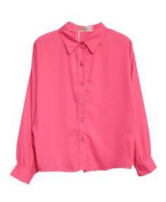 La blusa rosado.