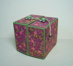 Stampathy: Workshop Mini-Origami-Box