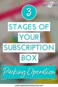If you are new to subscription boxes or just recently launched, it's pretty likely you will be packing those first boxes from home. That's great! You have control over the process, you can drop in some handwritten notes and there is a lot of value in knowing exactly what your pack-out takes. Start a sub box, How to start a subscription box, Start a subscription box, Complete Business Plan, How to Make Money, Entrepreneur Inspiration, Trendy Business Ideas! #subscriptionbox #systems #blog