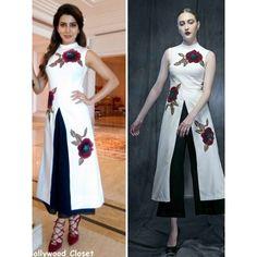 Nice Looking White Silk Designer Suit