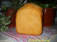 Гарбузовий хліб у хлібопічці від Подоляночки