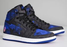 #sneakers #news  What If There Was A BAPE x Air Jordan 1?