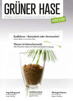 """Editorial Design – GRÜNER HASE, ein Magazin für das """"bessere Leben"""""""