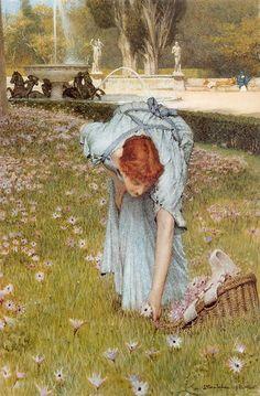 Alma-Tadema: Flora