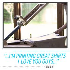 Diy print shop t shirt kit i made one of these onceobably diy print shop t shirt kit i made one of these onceobably cost me much more than 250 to do so as well diy pinterest diy table top solutioingenieria Images